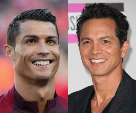 3 Football Players and their Celebrity Look A Likes